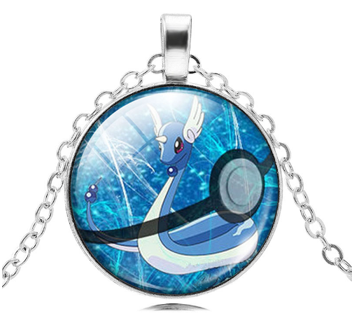 Dragonair Pokemon Pendant