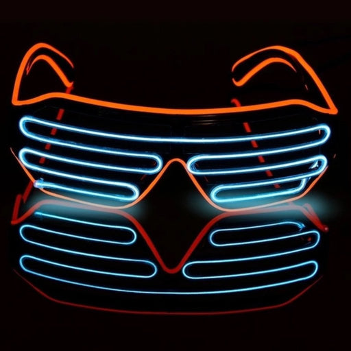 Blue LED Glow Shades - TrippyKitty