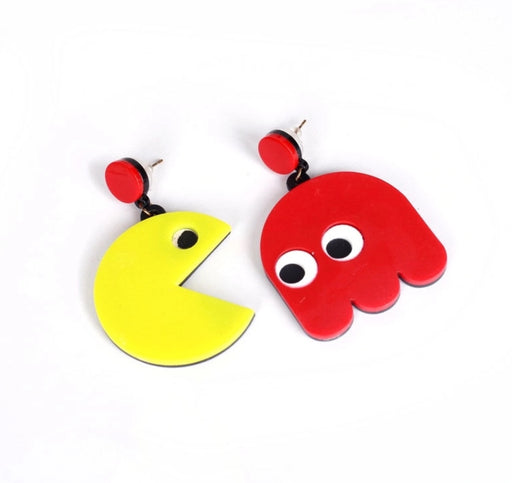 Retro Game earrings - TrippyKitty