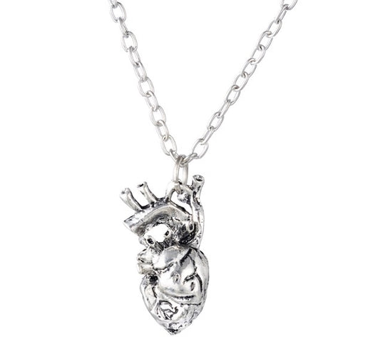 Anatomical Heart Pendant - TrippyKitty