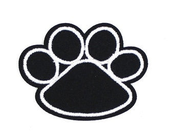 Paw print Iron on Patch - TrippyKitty
