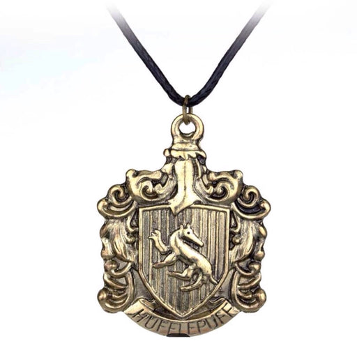 Hufflepuff Harry Potter Pendant - TrippyKitty
