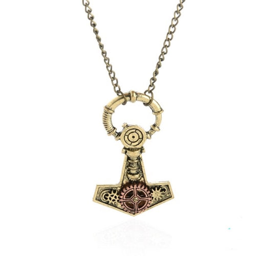 Anchor Steampunk Inspired Pendant - TrippyKitty