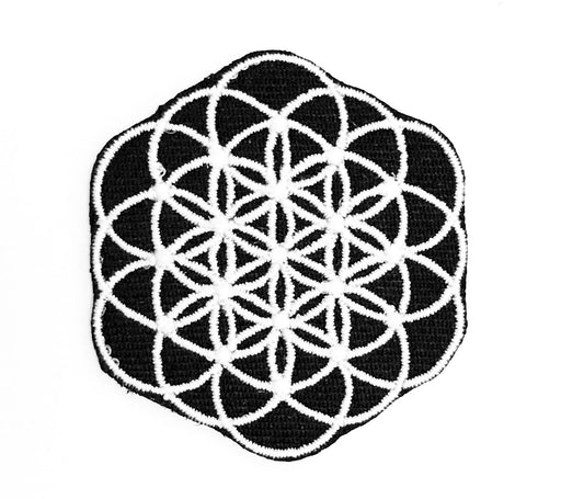 Flower of life Iron on Patch - TrippyKitty