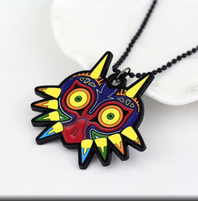 Zelda Mask Necklace - TrippyKitty