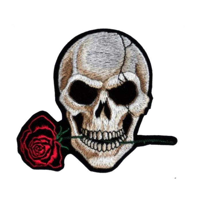 Skull rose Patch - TrippyKitty