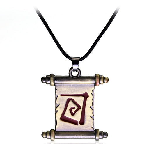 Ancient Scroll Necklace - TrippyKitty