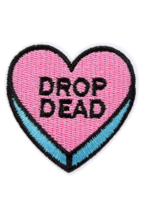 Drop Dead Iron on Patch - TrippyKitty
