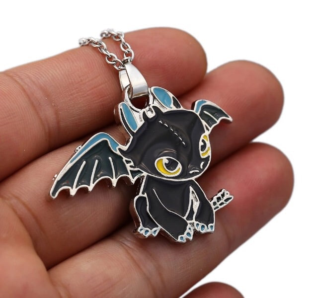 Toothless Necklace - TrippyKitty