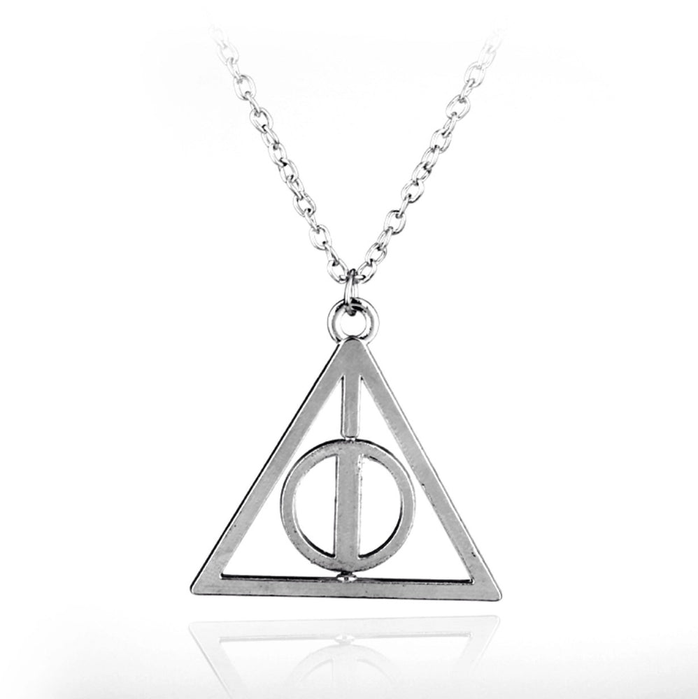 Deathly Hallows Harry Potter Pendant - TrippyKitty