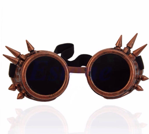Steampunk Goggles (Rose Bronze) - TrippyKitty