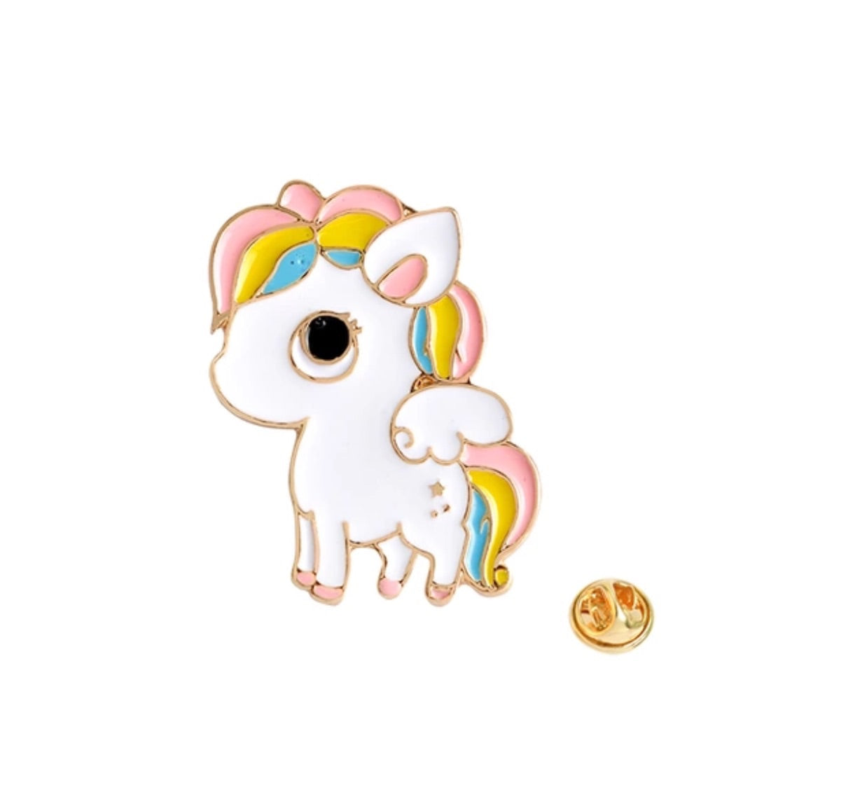 Unicorn Pin Badge (Enamel) - TrippyKitty