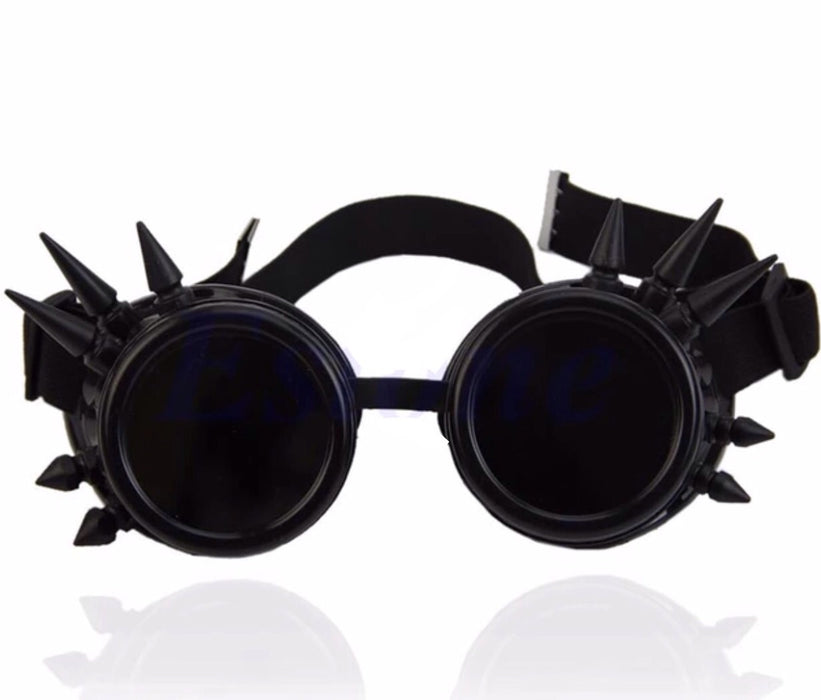 Steampunk Goggles (Black) - TrippyKitty