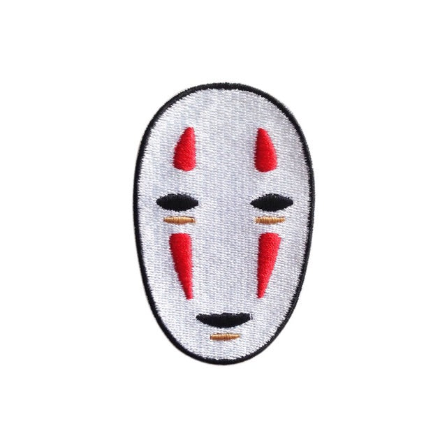 No face Iron on Patch - TrippyKitty