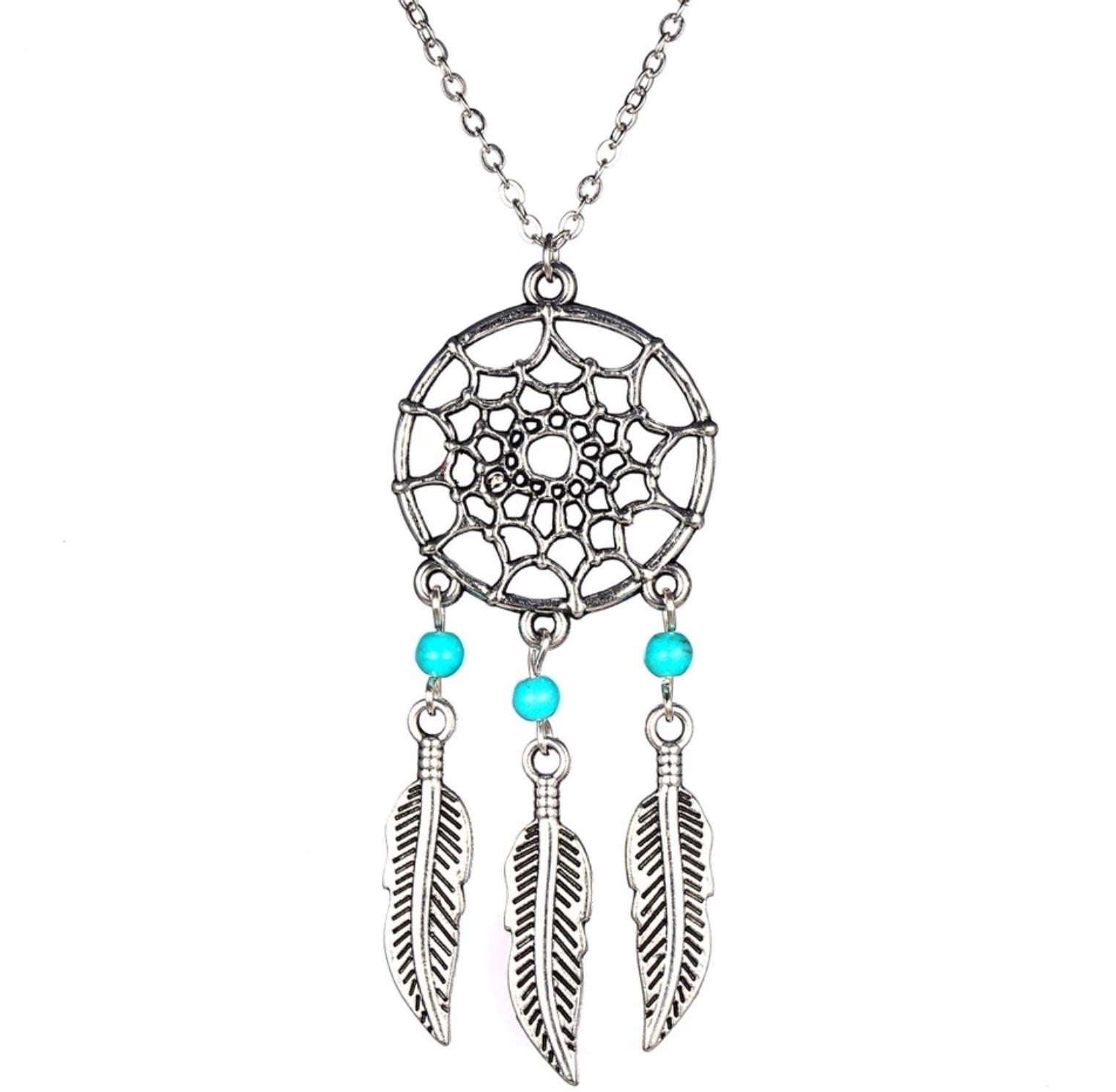 Dream catcher Necklace - TrippyKitty