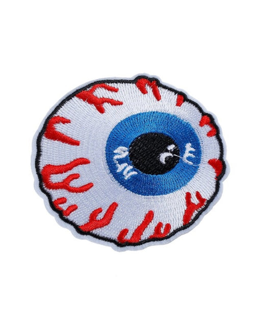 Eye ball  iron on  Patch - TrippyKitty