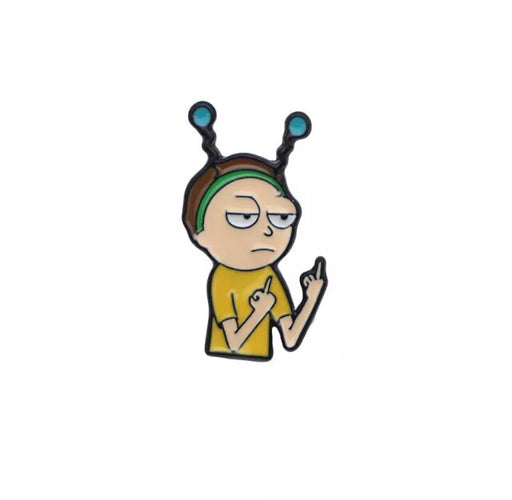 Peace among worlds 2 Pin Badge (Enamel) - TrippyKitty