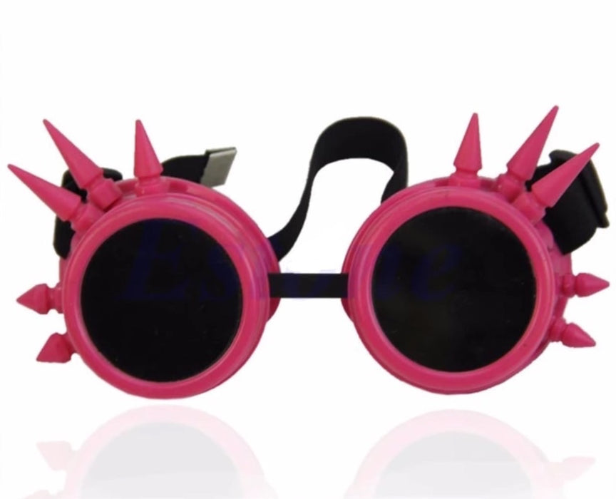 Steampunk Goggles (Pink) - TrippyKitty