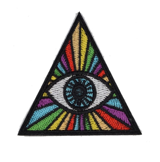 Trippy Eye Triangle Patch - TrippyKitty