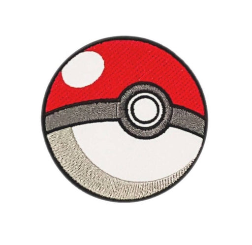 Pokéball iron on Patch - TrippyKitty