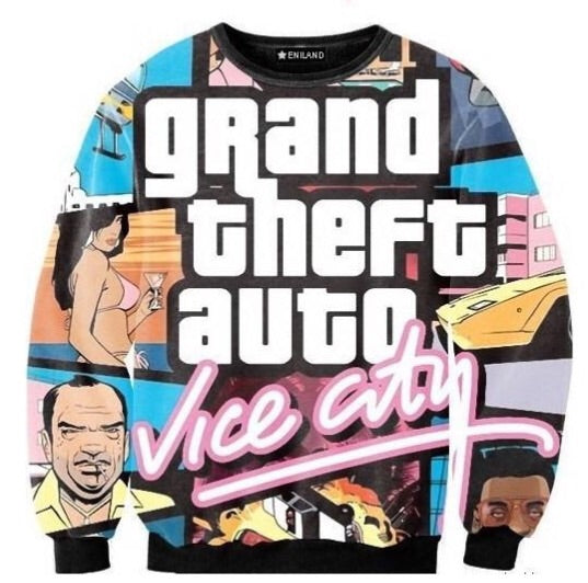 Vice CIty Sweatshirt - TrippyKitty