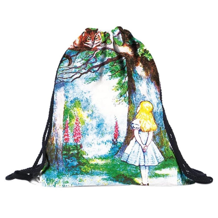 Alice Drawstring Bag - TrippyKitty