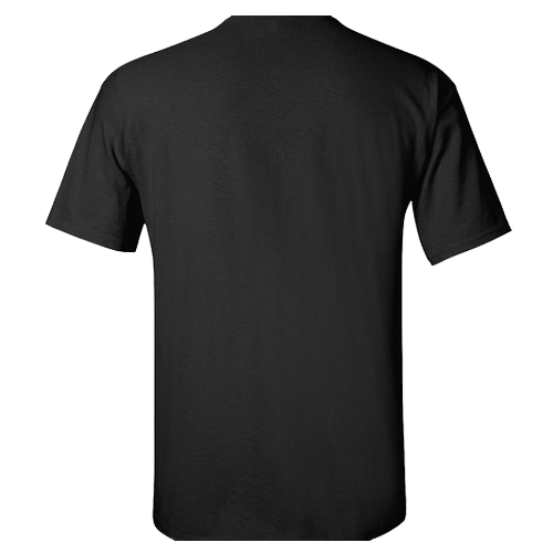 Men's Custom Basic Black T-Shirt