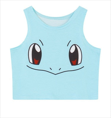 Pokemon Crop Top (Multiple Variants)