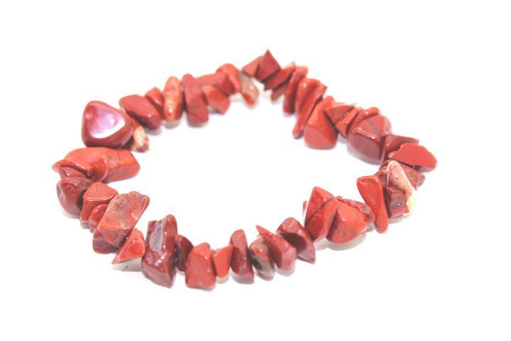 Other Red Quarts Crystal Gemstone Bracelet - TrippyKitty