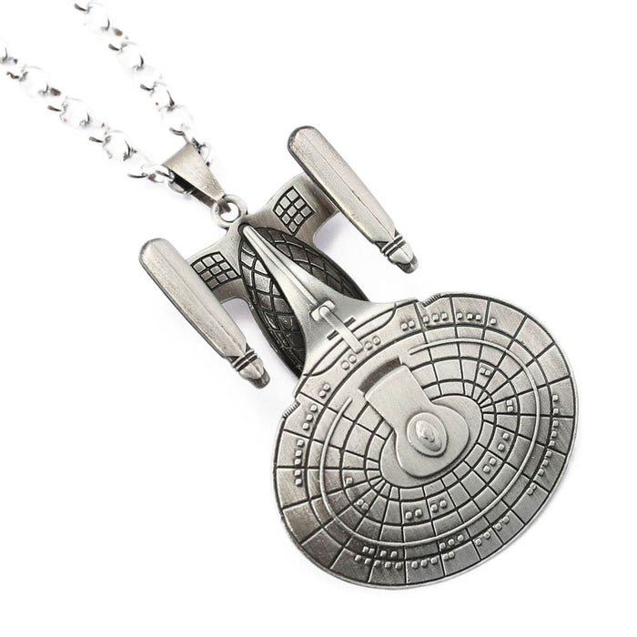 Star Trek Spaceship Pendant - TrippyKitty