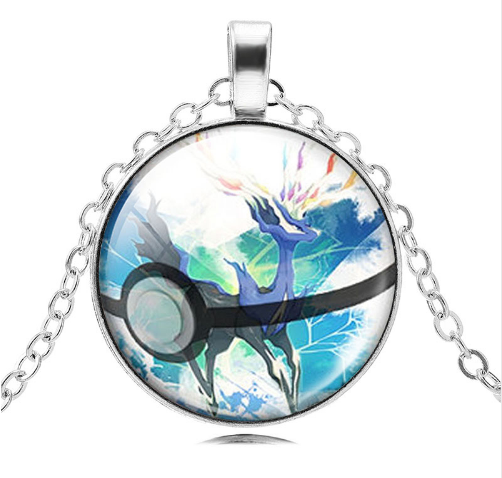 Xerneous Pokemon Pendant