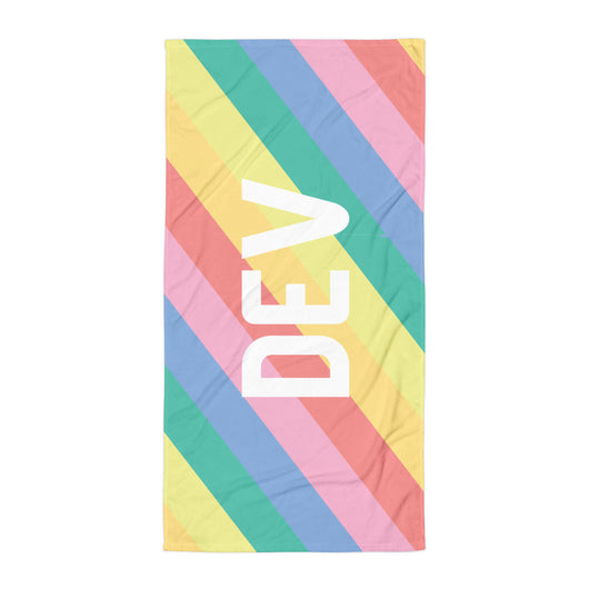 DEV Beach Towel