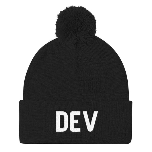 Pom Pom DEV Hat (Multiple Colors)