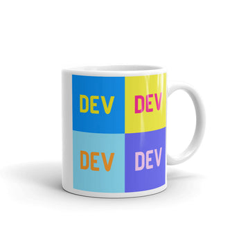 Pop Art DEV Mug