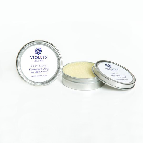 Foot Salve with Shea Butter and Black Seed Oil