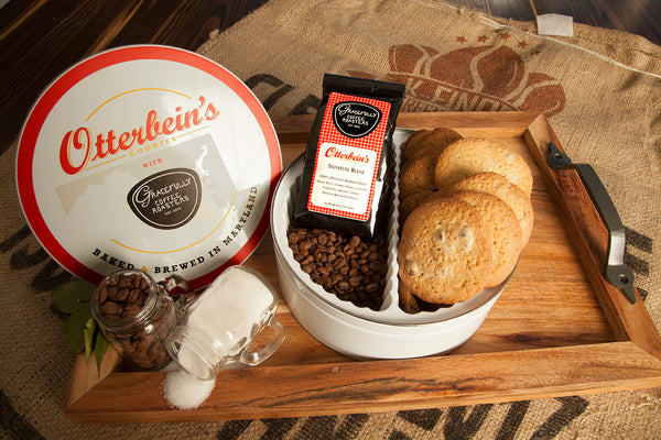 Otterbein's Cookies and Coffee Tin