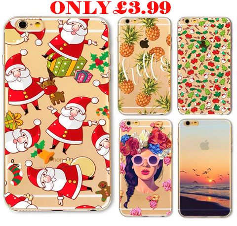 LIMITED TIME OFFER  New Christmas Panda Pineapple Girl Case for iphone 6 6s Plus 6Plus 5S