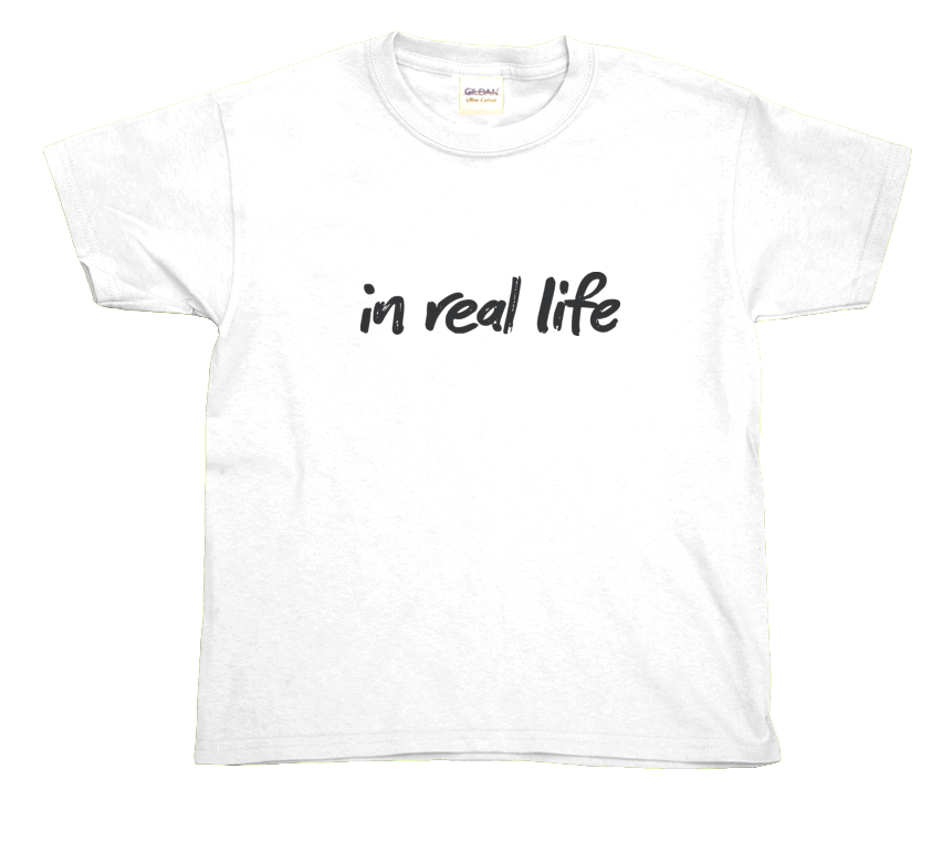 Kids IRL Tee (2 colors)