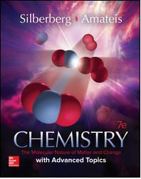 Chemistry: The Molecular Nature of Matter and Change With Advanced Topics 7th Edition