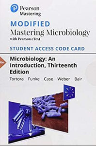 MODIFIED MasteringMicrobiology for Microbiology: An Introduction (13th Edition)