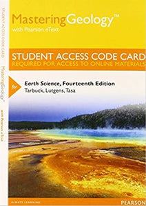 MasteringGeology with eText for Earth Science (14th Edition)