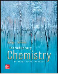 Introductory Chemistry: An Atoms First Approach 1st Edition
