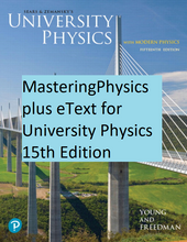 MasteringPhysics for University Physics with Modern Physics (15th Edition)