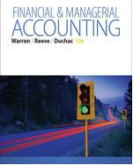Financial & Managerial Accounting 13th Edition