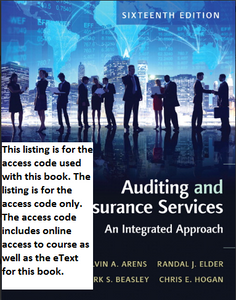 MyAccountingLab with Pearson eText for Auditing and Assurance Services (16th Edition)