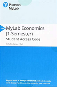 MyEconLab with Pearson eText for Principles of Macroeconomics (13th Edition)