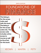 MyFinanceLab with Pearson eText for Foundations of Finance 9th Edition