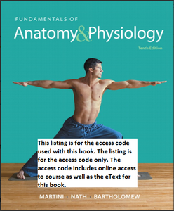 MasteringA&P with Pearson eText for Fundamentals of Anatomy & Physiology (10th Edition)