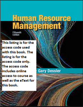 MyManagementLab with Pearson eText for Human Resource Management (15th Edition)