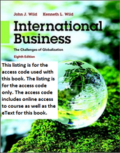 MyManagementLab with Pearson eText for International Business: The Challenges of Globalization (8th Edition)